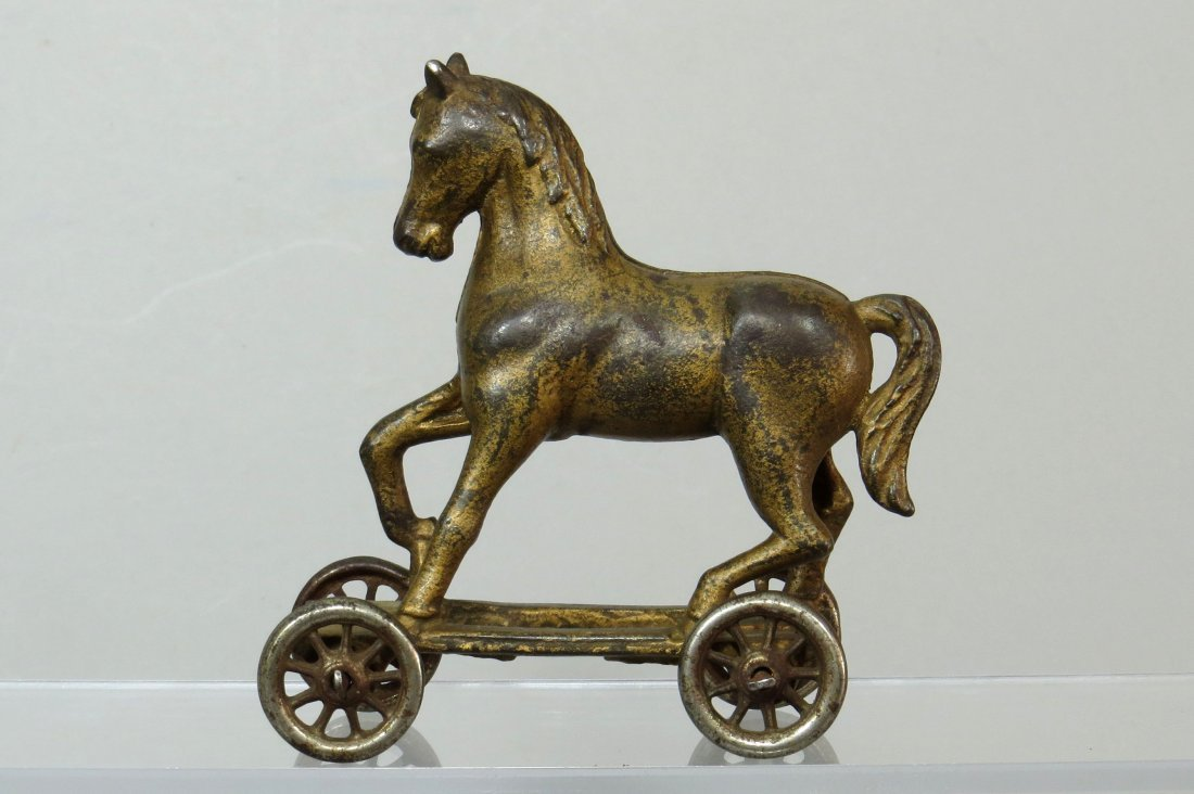 CI Horse on Wheels Bank