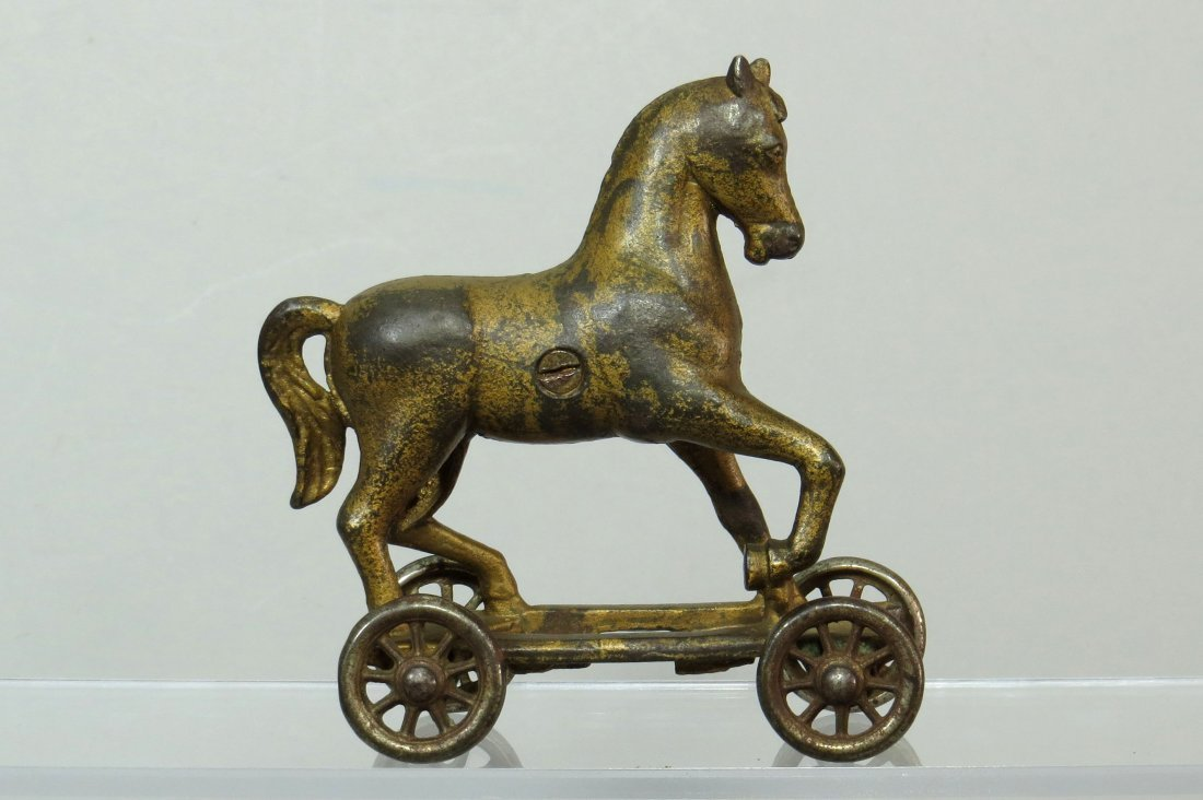 CI Horse on Wheels Bank - 2
