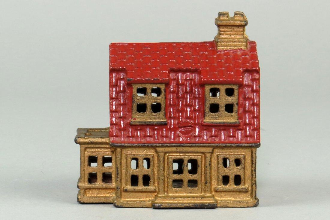 CI House w/Porch Bank, lg. - 2