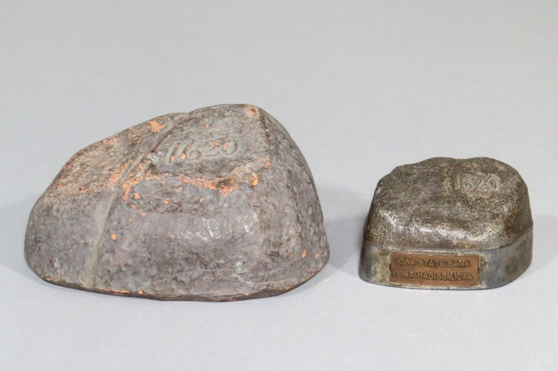 Lot of 2 Plymouth Rock Banks