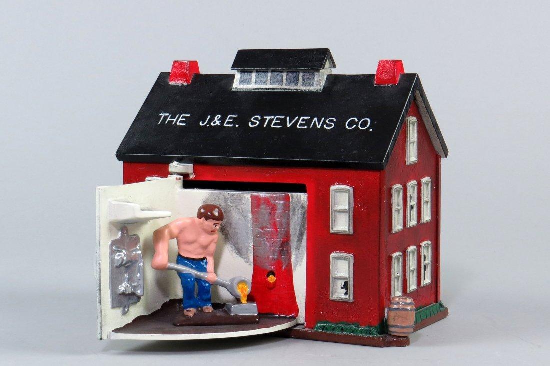"Aluminum ""The J & E Stevens Co. Foundry"" Mechanical"