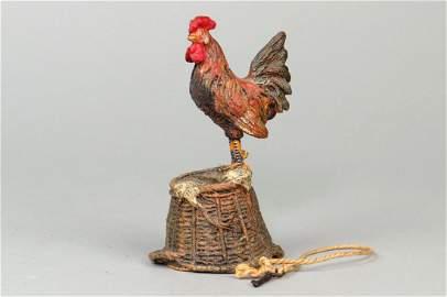 Hauser Hen on Basket Bank