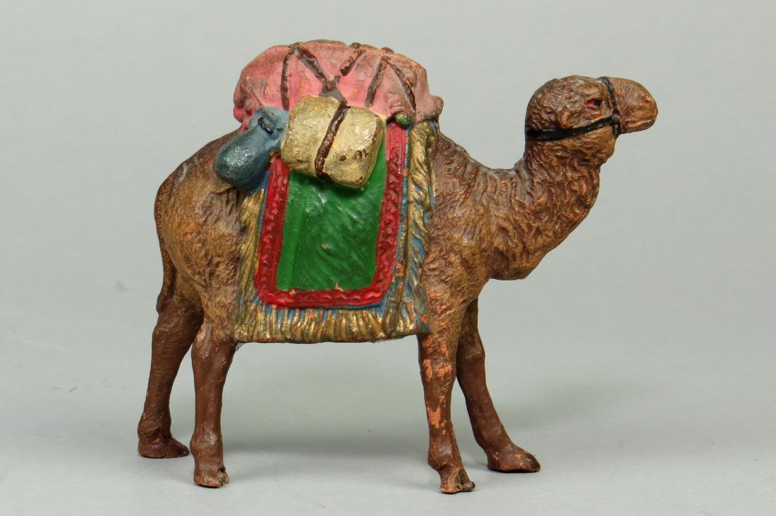 Hauser Camel w/Pack Bank - 2