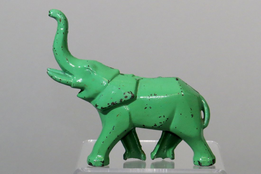 CI Art Deco Elephant Bank