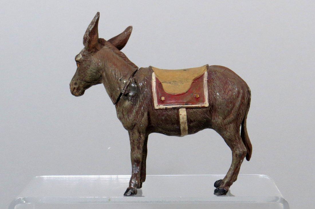 Spelter Donkey w/Hinged Neck Bank - 2
