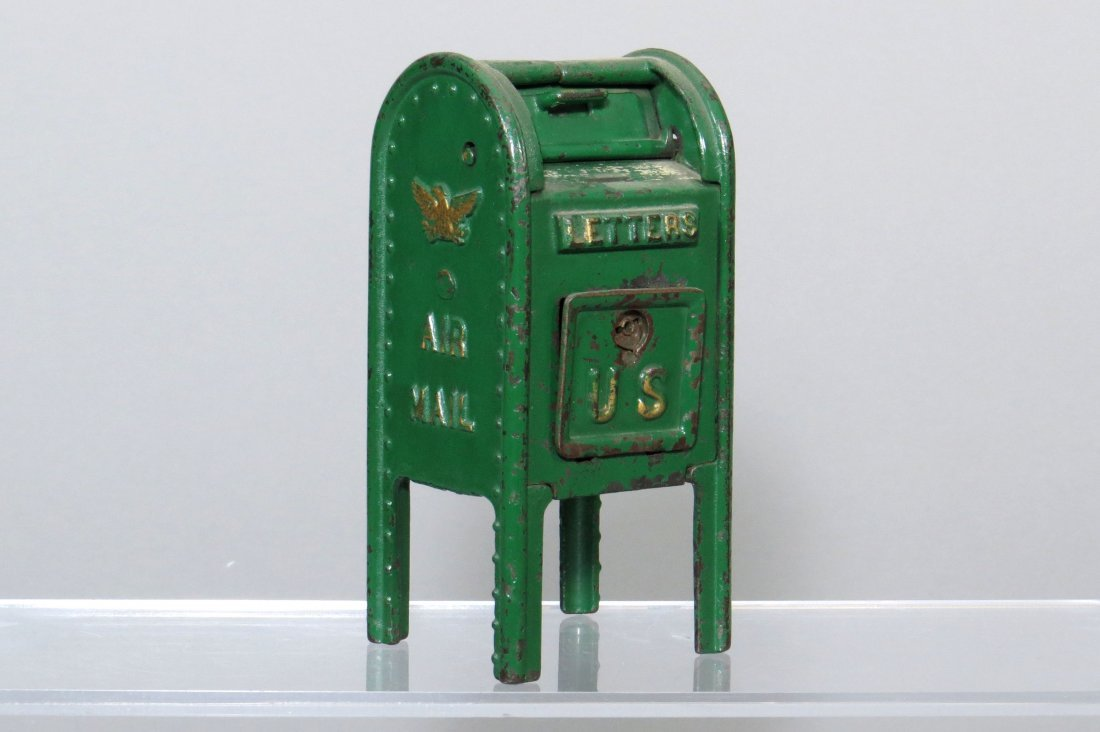 "CI Standing Mailbox ""Air Mail"" Bank"