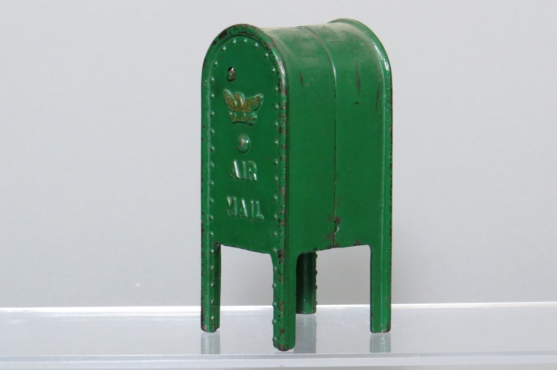 "CI Standing Mailbox ""Air Mail"" Bank - 2"