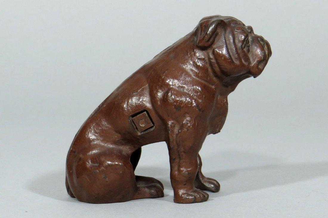 CI Seated Bulldog Bank - 2