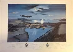 Shortland Dambuster World War Two print titled