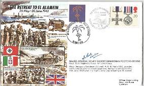 World War Two Joint Services cover The Retreat to El