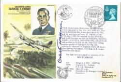 RAF Escaping society FDC dedicated to ACM Sir Basil E.