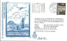 World War Two flown cover (RAFAC 17) 40th Anniversary