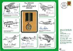 WW2 multisigned DM cover The Award of the Air