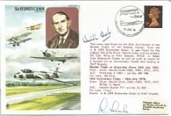 Sir Sydney Camm, CBE, FRAeS, official double signed RAF