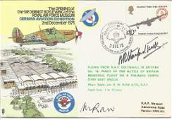 Robert Stanford Tuck DSO DFC WW2 fighter ace signed