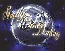 Strictly come Dancing 10x8 colour photo signed by 7
