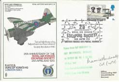 Maurice Buckmaster SOE WW2 signed RAF Duke of Yorks