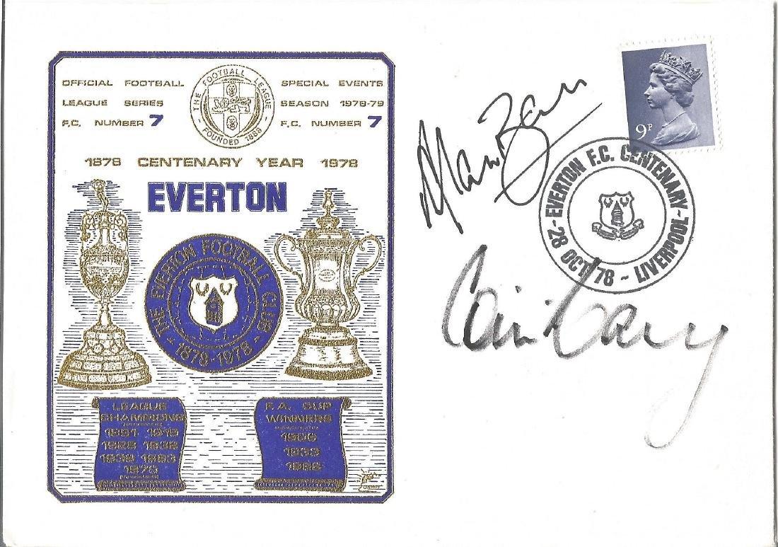 Football Everton 1978 Centenary year commemorative