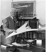 Barnes Wallis signed 10 x 8 b/w photo. Good Condition.