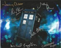 Doctor Who 10 x 8 colour photo of the Tardis in space