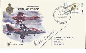Grp Capt Sir Douglas Bader DSO DFC signed 1968 50th ann