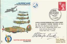 Wg Cdr Robert Stanford Tuck DSO DFC AFC signed RAF