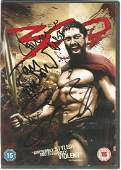 Dominic West, Gerard Butler and Tom Wisdom signed 300