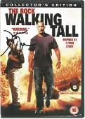 Dwayne Johnson signed The Rock Walking Tall DVD.