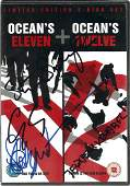 George Clooney and 3 others signed Ocean's Eleven DVD,