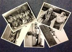 World War Two collection five 7x9 vintage b/w photos