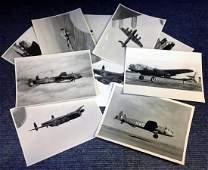 World War Two collection ten 7x9 vintage b/w photos