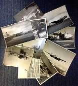 RAF collection ten 7x9 vintage b/w photos picturing