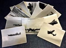 World War Two ten 7x9 vintage b/w photos Avro Lancaster