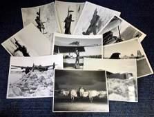 World War Two ten 6x8 vintage b/w photos Avro Lancaster