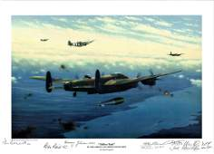 World War Two print approx 12x16 titled Tallboy