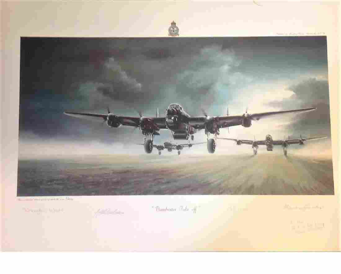 World war Two print 14x20 from Bill Townsend collection