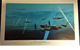 World War Two 12x18 print titled Here Comes Another