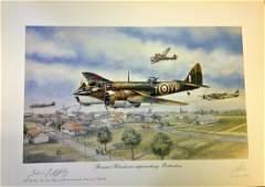 World War Two print approx 24x20 titled Bristol
