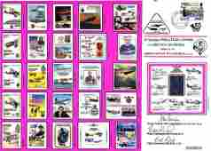 RAF Flown cover 25 years of Philatelic covers for