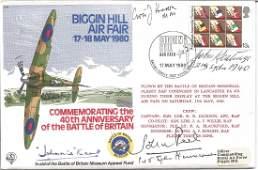 Grp Capt Johnnie Kent DFC AFC WW2 BOB fighter ace