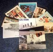 Titanic collection includes Montage photo c/w one inch