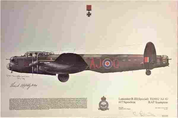 World War Two Lancaster B IIISpecial 617 squadron