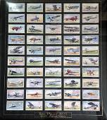 Aviation collection 19x21 framed and mounted cigarette