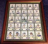 Cricket Ashes Winning Captains 21x17 overall cigarette