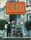 Multi signed Fawlty Towers softback book. Signed by 9