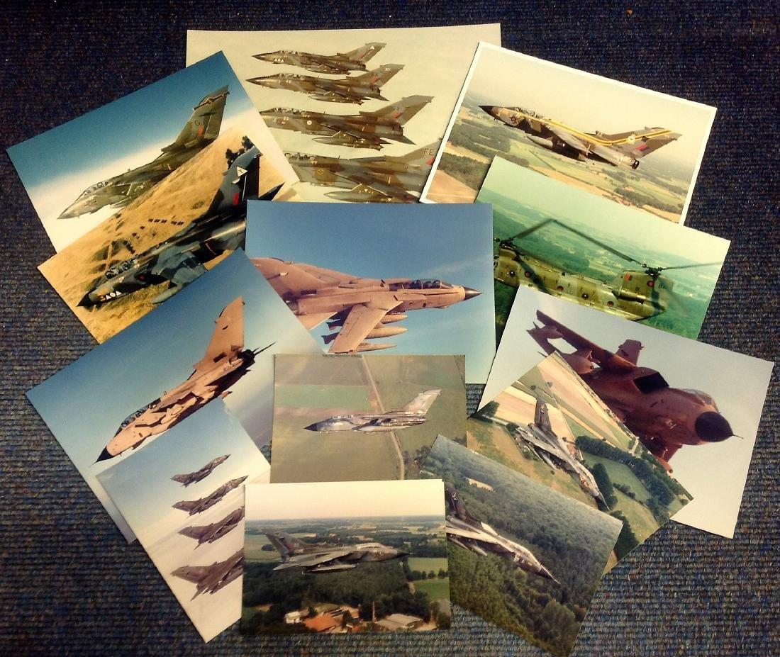 Tornado RAF photos, Twelve stunning unsigned photos of