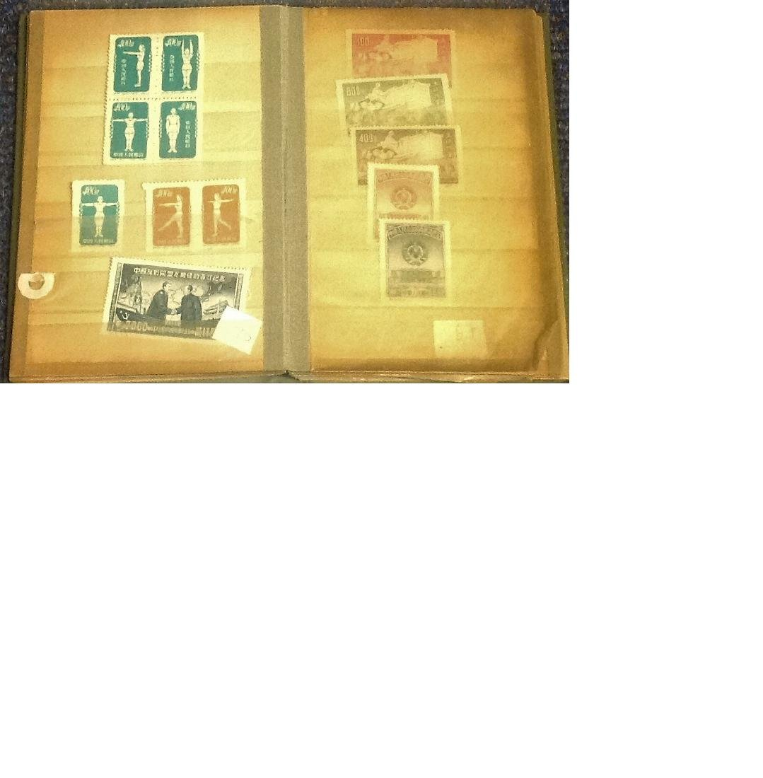 China stamp collection approx 80 stamps very rare and