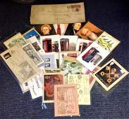 GB collection includes PHQ cards, Vintage envelope