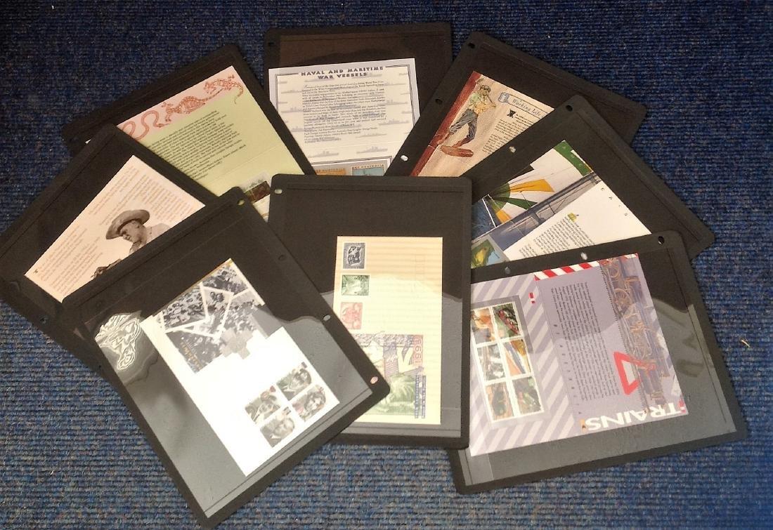 Australia stamp collection includes 6, presentation