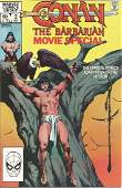 Marvel comic Conan The Barbarian Movie Special the
